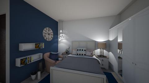 master bed option 1 - Bedroom  - by Naf_f