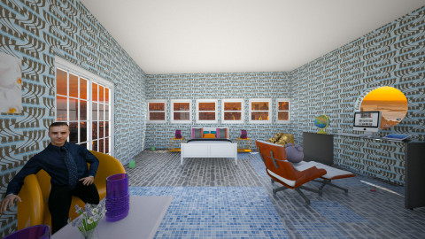 Lochezzs Dream Room - Retro - Bedroom  - by Lochezz
