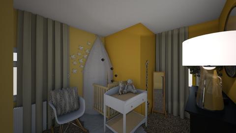 Pumpkin - Kids room  - by AngelikiB