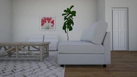 Landing_Stairs_v7 - Living room - by jupiterjazz