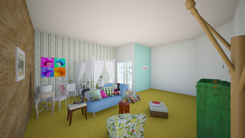 elvira - Vintage - Bedroom  - by eleonjavier
