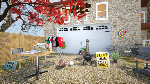 garage sale 3 - Modern - Garden  - by Evangeline_The_Unicorn