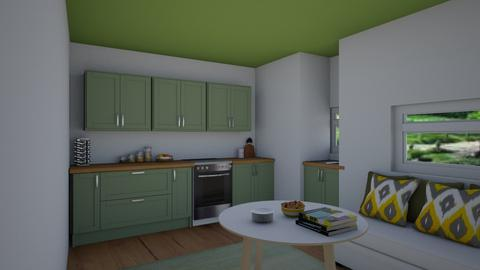 RestyleThisRoom Celia123 - Kitchen  - by Celia_123