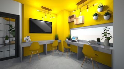Work Office  - Modern - Office  - by BettyMalaga