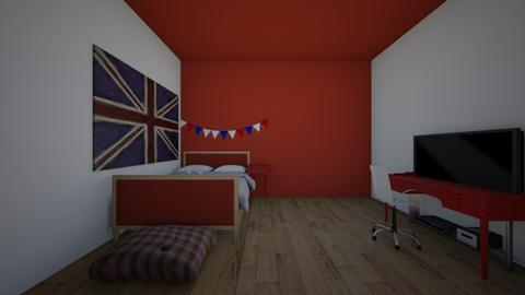tommys room - Bedroom  - by crying_room