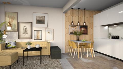 bialoleka - Living room  - by ewcia3666