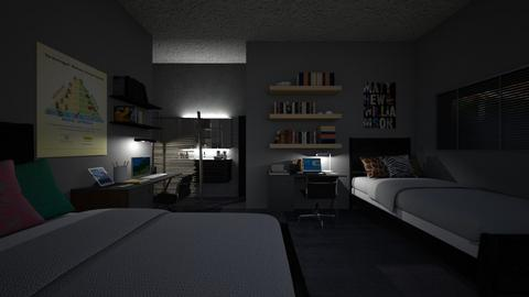 student housing - Bedroom  - by allday08