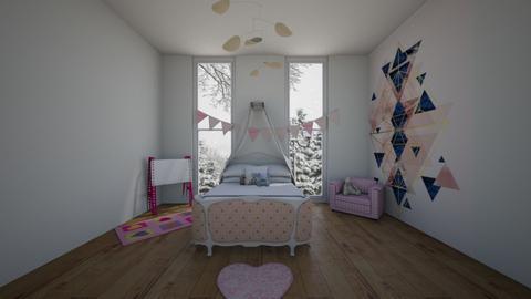 cuar dd - Classic - Kids room  - by Isa  cuartos
