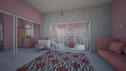 Rich Girl Room - Modern - Bedroom  - by LivStyles09