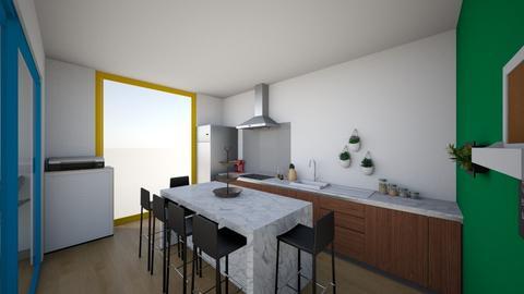 Kantoor Liessa - Modern - Office  - by PxnkMxchx