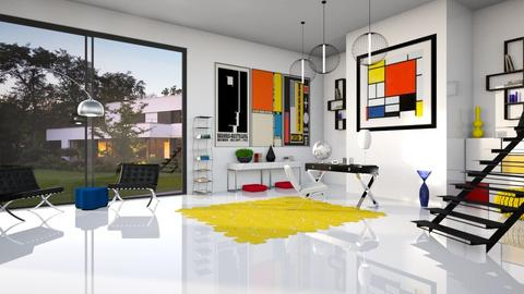 BAUHAUS STUDY - Modern - Office  - by RS Designs