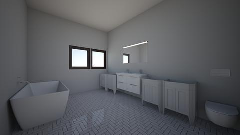 New House - Bathroom - by Slow as a Sloth