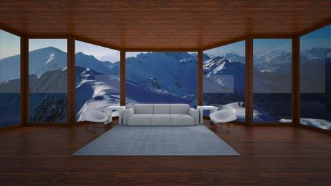 Mountain Living - Modern - Living room  - by designcat31