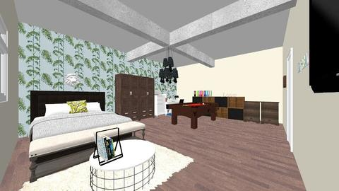 Dream Loft AB - Eclectic - Bedroom - by Ahmedb