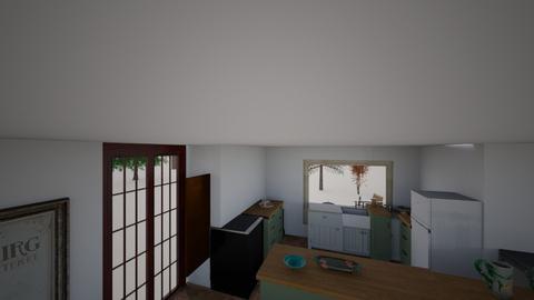 QUINCHO 4 - Living room  - by FILOPAU