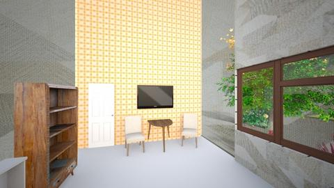 My TV room - Living room - by eternal_rice_muncher