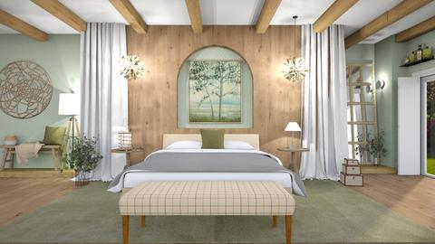 Sage safe haven  - Bedroom  - by hmm22