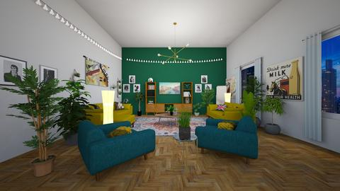 BGY Design - Retro - Living room  - by Eadubala