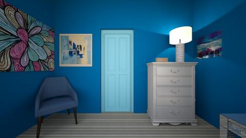 Joey bedroom five - Modern - Bedroom  - by JoeB1031