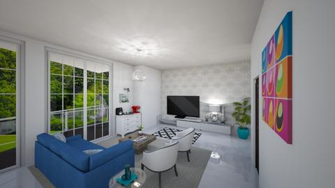Privado178 Living Room V4 - Living room - by Sally Haridi