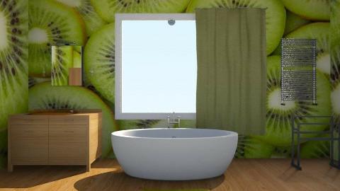 Kiwi Bathroom - Bathroom - by siscauw