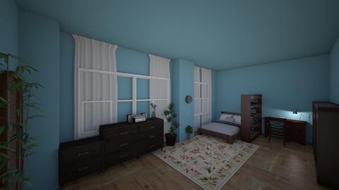 College - Vintage - Bedroom  - by lunadpdy