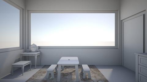 white room - Kids room  - by Lilvamp13