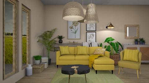 Minimal living - Living room  - by Niva T