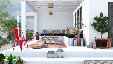 Lucia terrace - Garden  - by Charipis home