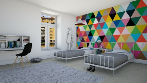 Boys will be boys - Modern - Kids room  - by Maria Esteves de Oliveira