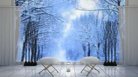 Winter Light - Classic - Living room  - by millerfam