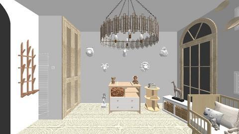 Toddler Nursery - Minimal - Kids room  - by kinseyevans
