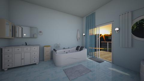 Blue Bath - Bedroom  - by mspence03