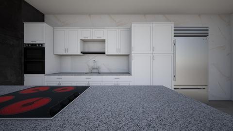 Keuken hoek - Modern - Kitchen  - by Inge van de Haar