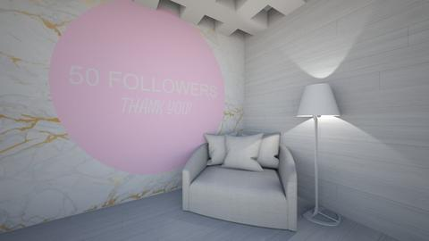 Thx for 50 followers - by weinsteinkids