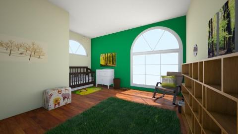 nursery 1st hr - Kids room - by cassidyjones1999