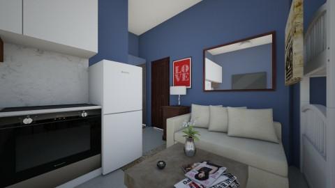 condo 3_0 - Living room - by edjsueno