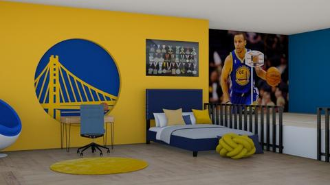 Golden State Warriors - Bedroom  - by DemiGirl9