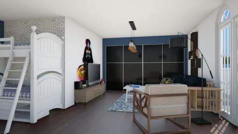 boys room - by Nicole2901