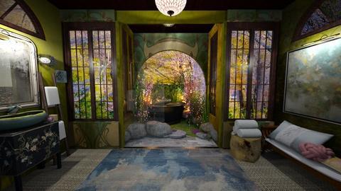 Lily Pond Bath OI N - by ehartnyc
