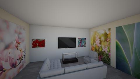 sala moderna  - Modern - Living room  - by yanis rodriguez