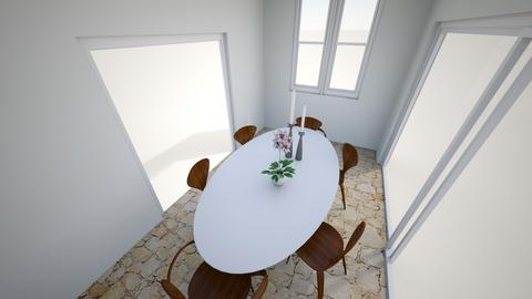 Peggy dining table - Kitchen  - by Sylvia Chandras