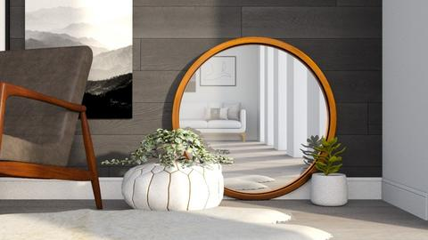 In The Mirror - Living room  - by millerfam