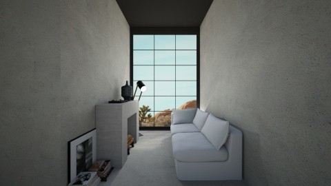 Casa127 - Minimal - Living room  - by nickynunes