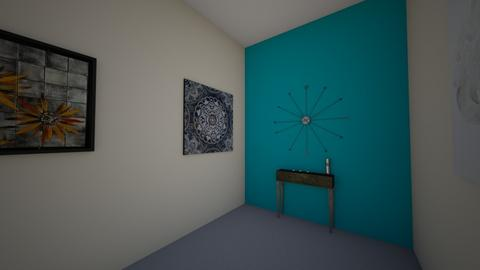 Turquoise hall - Modern - by EllAutumn