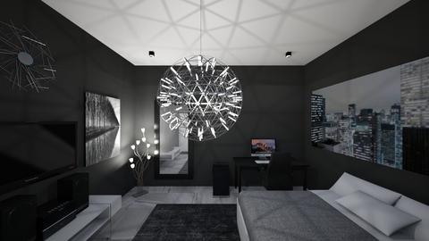 Room A_Side 8 - Modern - Living room - by zainunazrin