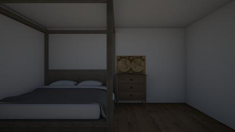 salem witch house - Bedroom  - by 3126684