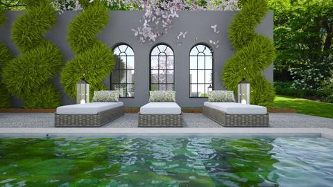 Garden Retreat 12 - Garden  - by Fofinha