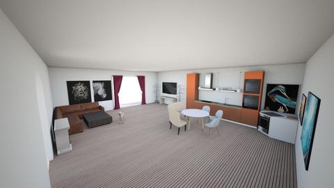 PARA Vivir  - Living room  - by Hugotorres89