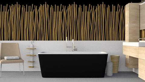 Bamboo Bath - Bathroom  - by designkitty31